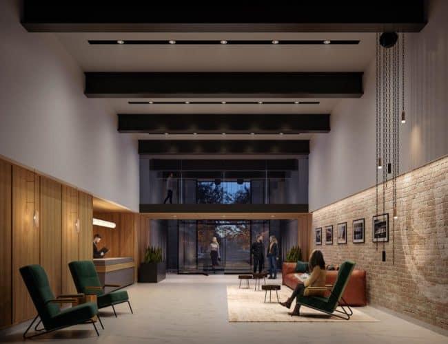 Lobby-Stockyards District Residences