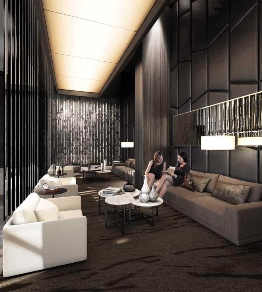 Beacon Condos - Lobby - Interior Render