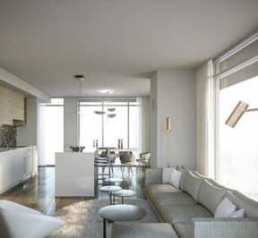 M Condos - Condo Suite - Interior Render