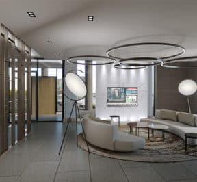 M Condos - Lobby - Interior Render