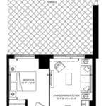 SXSW Condos - SW 571 (BF) - Floorplan
