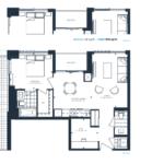 The Branch Condos - Cypress 757 - Floorplan