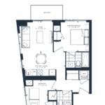The Branch Condos - Cedar 669 - Floorplan
