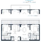 The Branch Condos - Cedar 802 - Floorplan