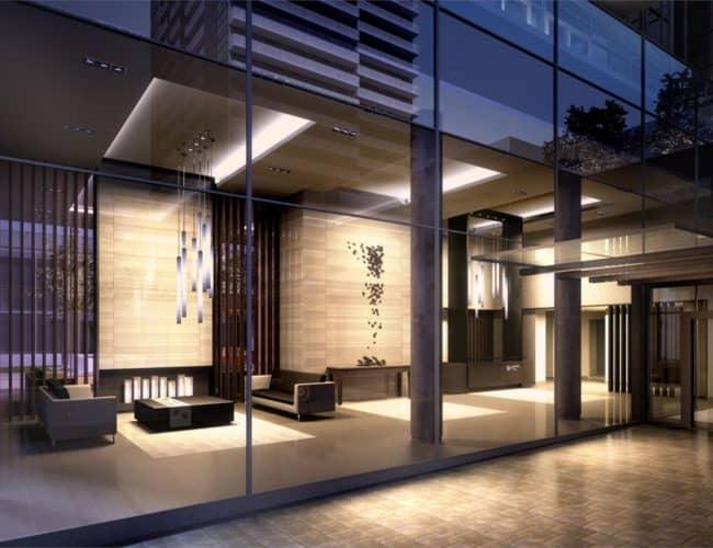 SkyCity Condos - Lobby - Exterior Render