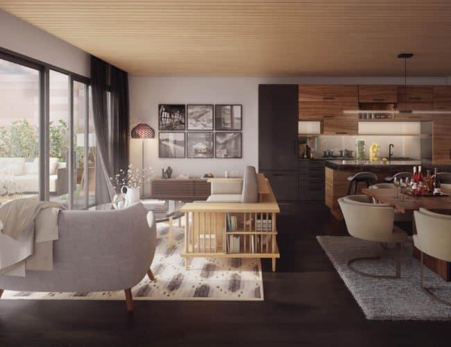 Suite Interior, Heartwood the Beach Condos
