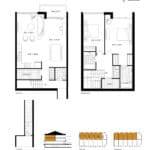 SweetLife Condos - Butterscotch - Floorplan