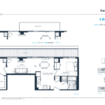 The Branch Condos - Cedar 870 - Floorplan