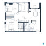The Branch Condos - Cedar 891 - Floorplan