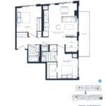 The Branch Condos - Juniper 936 - Floorplan