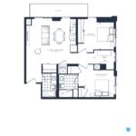 The Branch Condos - Juniper 988 - Floorplan