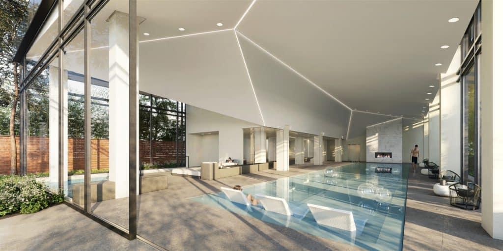 The Branch Condos - Pool - Interior Render