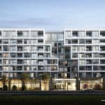 The Branch Condos - Street Level View - Exterior Render