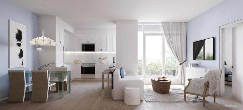 The Branch Condos - Suite - Interior Render
