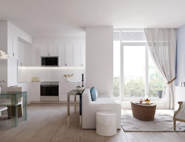 The Branch Condos - Suite - Interior Render