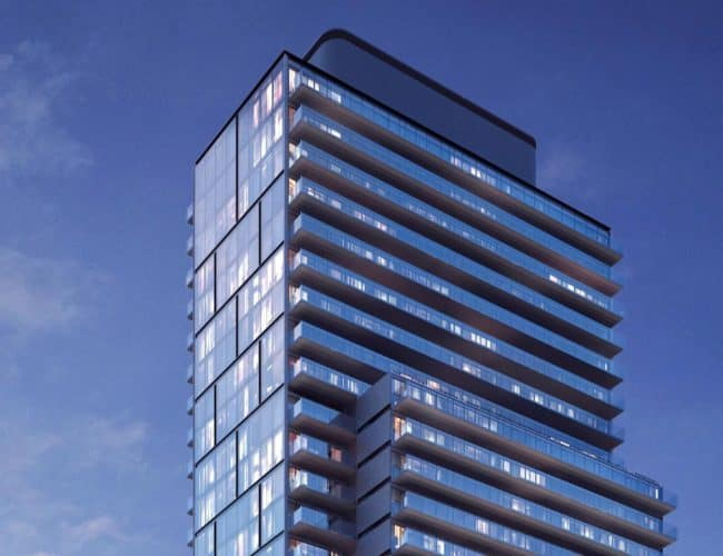 The Clover on Yonge - Exterior Render