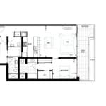 The Lookout Condominiums - 301 - Floorplan