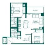 The Peak at Emerald City - Elias - Floorplan