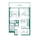 The Peak at Emerald City - Logan - Floorplan
