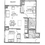 The Peak at Emerald City - Pico - Floorplan
