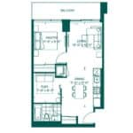 The Peak at Emerald City - Whistler - Floorplan