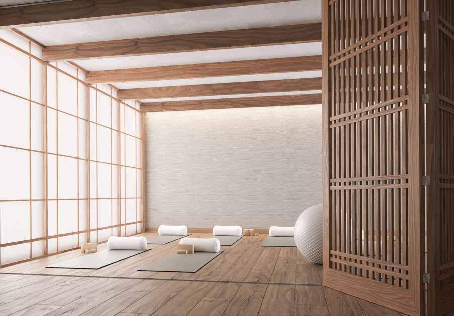 The Saint Condos - Yoga Room - Interior Render