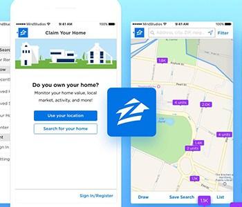 Zillow App Screen Shot