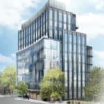 321 Davenport Condos - Street Level View - Exterior Render