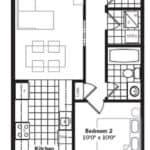 Brownstones at Westown - Astoria MOD - Floorplan