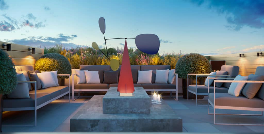 Margo Condos - Terrace - Exterior Render 2