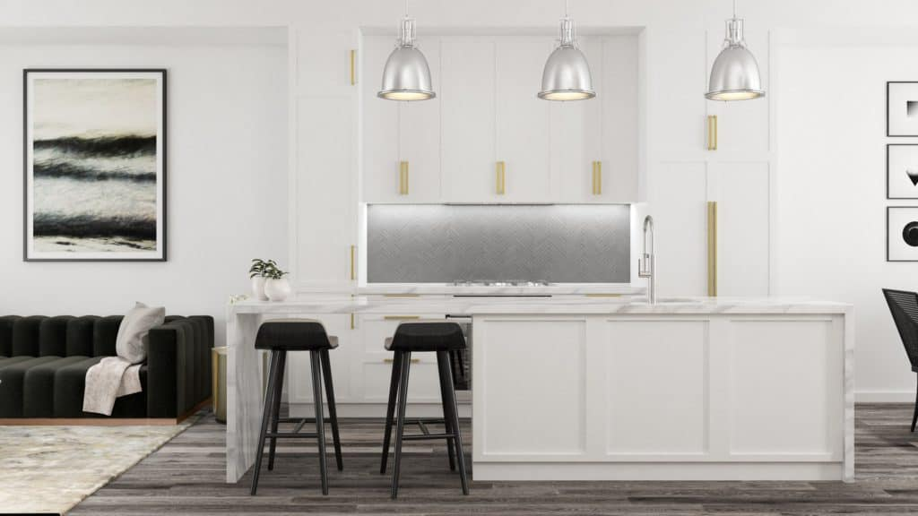Piano Towns - Suite - Dining - Interior Render