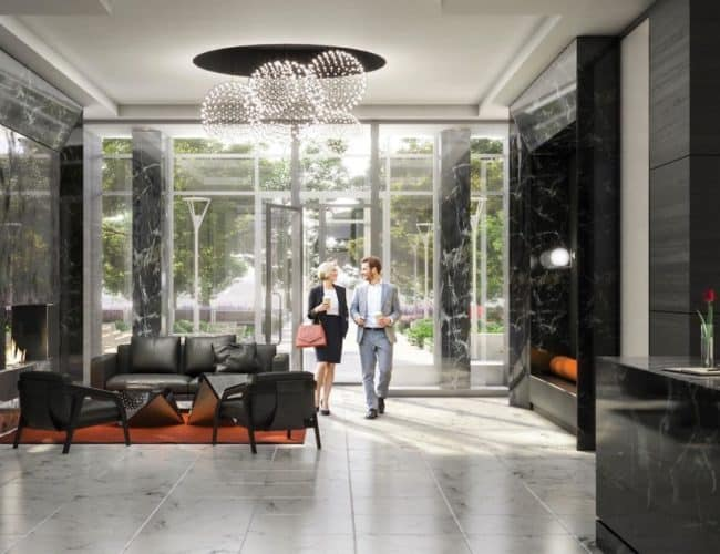 Southside Condos - Lobby - Interior Render