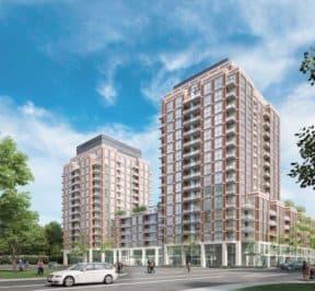 Southside Condos - Street Level Views - Exterior Render