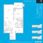 The 2800 Condos - Suite 1+B - Floorplan