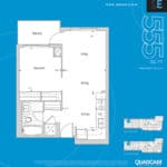 The 2800 Condos - Suite 1E - Floorplan