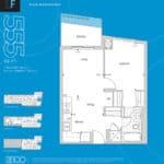 The 2800 Condos - Suite 1F - Floorplan