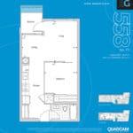 The 2800 Condos - Suite 1G - Floorplan