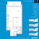 The 2800 Condos - Suite 1I - Floorplan