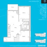 The 2800 Condos - Suite 2D - Floorplan