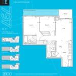 The 2800 Condos - Suite 2E - Floorplan