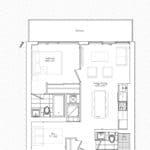 The Garden District Condos - 01 - Floor Plan