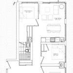 The Garden District Condos - 02A - Floor Plan