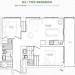 The Garden District Condos - 03 - Floor Plan