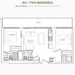 The Garden District Condos - 04 - Floor Plan