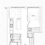 The Garden District Condos - 06A - Floor Plan