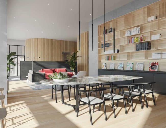 The Junction House - Lounge - Interior Render