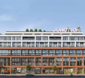 The Junction House - Street Level View - Exterior Render