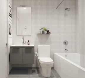 The Junction House - Suite - Bathroom - Interior Render