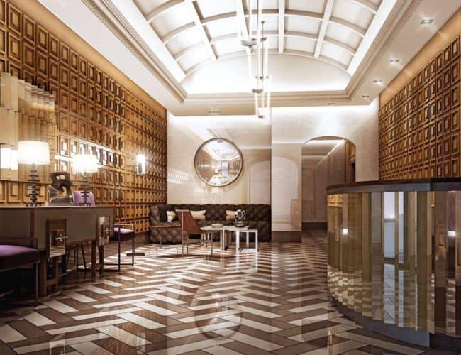 Lobby - The Hill Condos