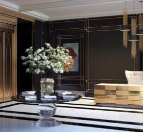 200 Russell Hill Condos - Lobby - Interior Render
